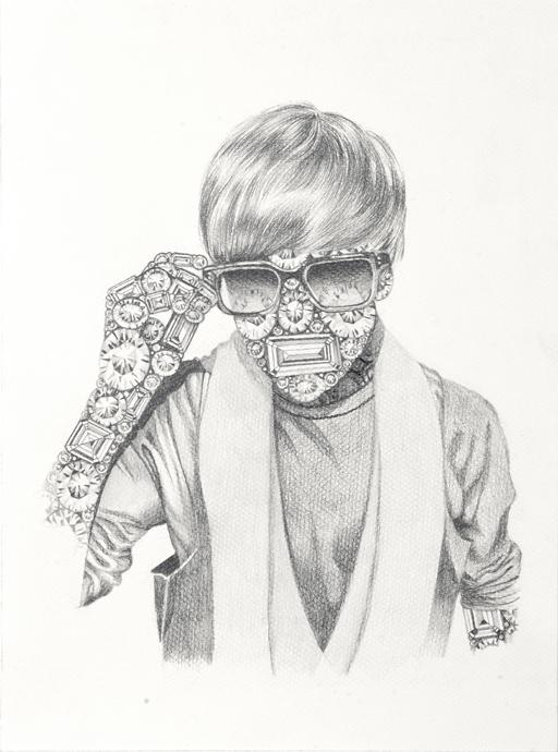 Luciana Rondolini - Justin - grafito sobre papel - 37.5 x 27.5 cm - 2012 (2)
