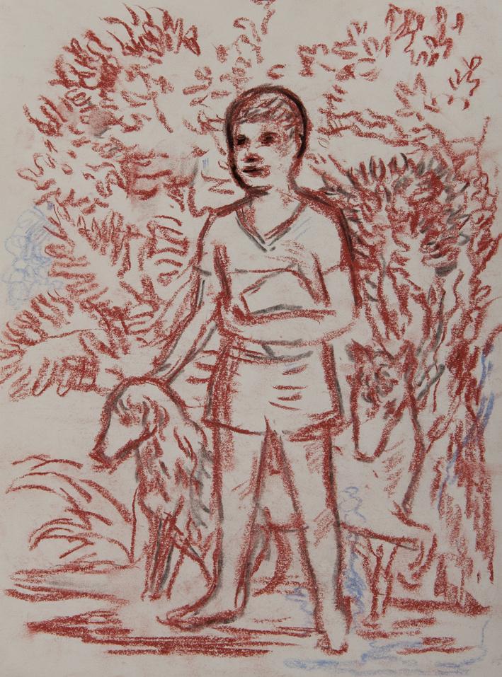 Nahuel Vecino -  sobre papel 27,5 x 20,5 cm